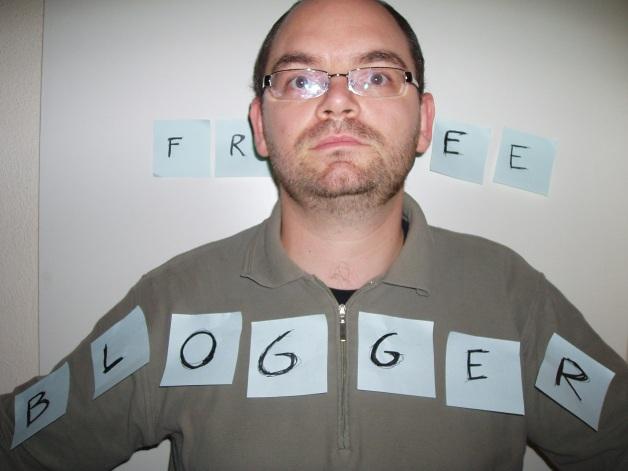 I am a free blogger
