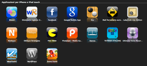 my iPhne apps