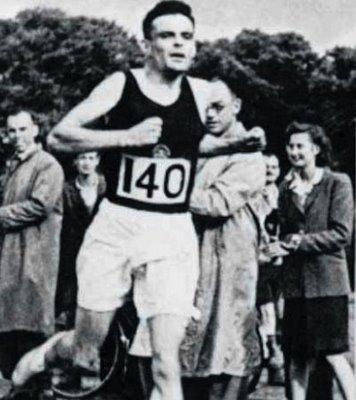 Turing maratoneta nel 1946