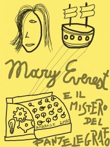 Mary Everest e il mistero del pantelegrafo – copertina